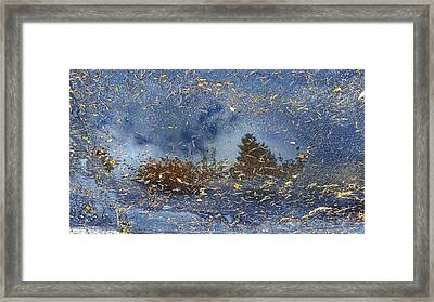 Reflections Framed Print by Tom Kiebzak
