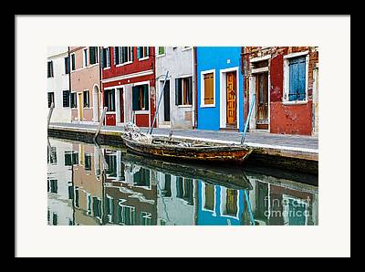 Canals Photographs Framed Prints