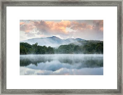 Reflective Elder Framed Print