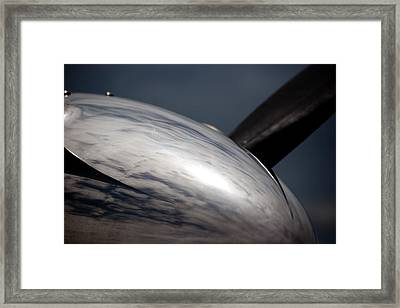 Reflective Power Framed Print by Paul Job