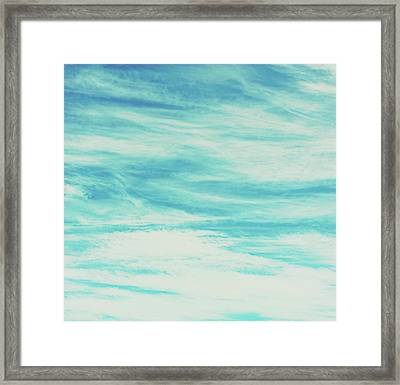 Reflective Water Framed Print