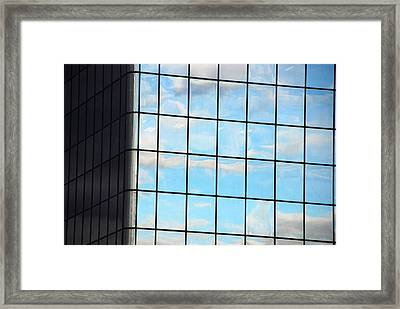 Reflectivity Framed Print by John Schneider