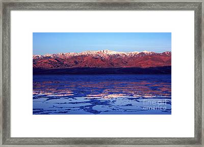 Reflex Of Bad Water Framed Print