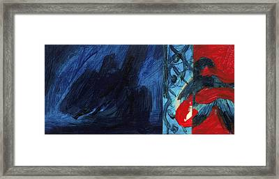 Reflexion Framed Print by Hatin Josee
