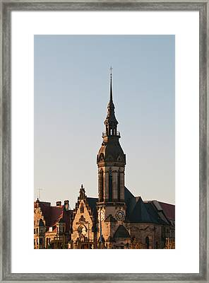 Reformed Church (evanglisch Reformierte Framed Print by Michael Defreitas