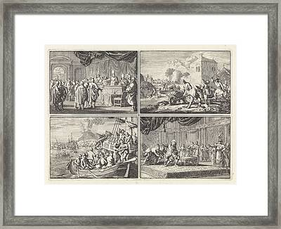 Reformed Church In Hungary For A Court Of Bishops And Other Framed Print
