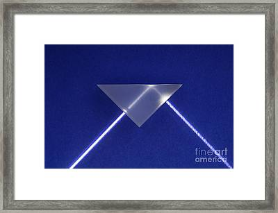 Refraction And Internal Reflection, 2 Framed Print by GIPhotoStock