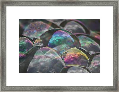 Refraction Framed Print by Cathie Douglas