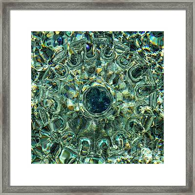 Refraction Clear Framed Print