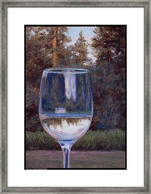 Refraction Framed Print by Diana Moses Botkin
