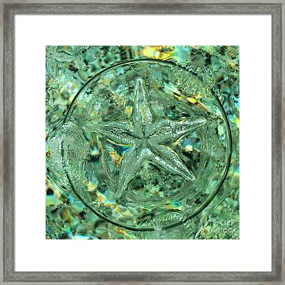 Refraction Star Framed Print