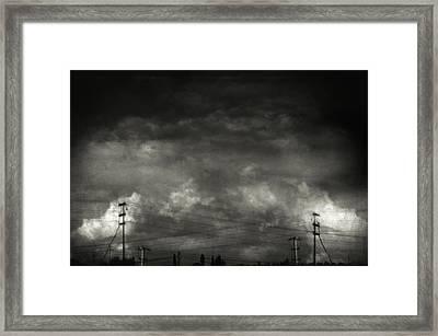 Refraction Framed Print by Taylan Apukovska