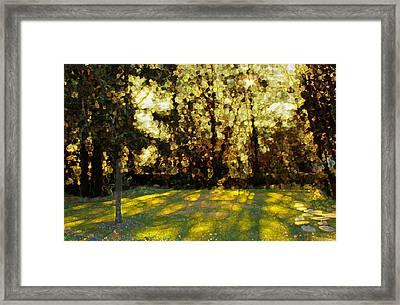 Refrectory Framed Print by Terence Morrissey