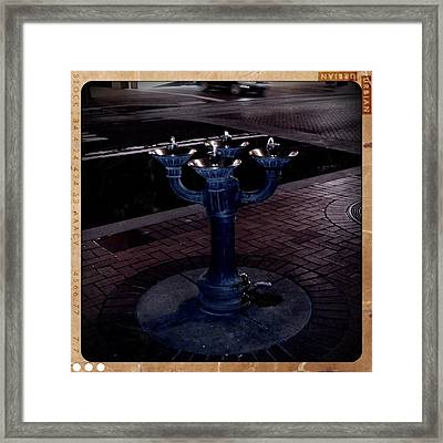 Refreshing Framed Print by Heather L Wright