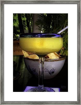 Refreshing Framed Print by Julie Palencia