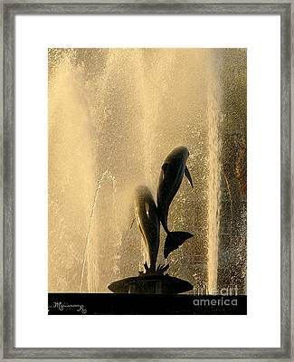 Refreshing Pause Framed Print by Mariarosa Rockefeller