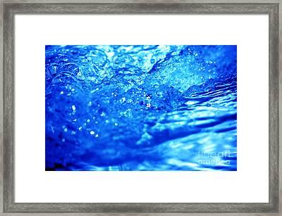 Refreshing Water Power Framed Print by Michal Bednarek