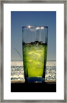 Refreshment Framed Print by Rebecca West