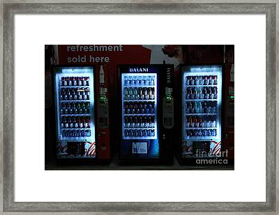 Refreshment Sold Here - 5d20673 Framed Print by Wingsdomain Art and Photography
