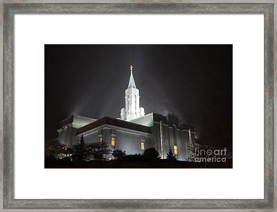 Refuge From The Storm Framed Print by Ryan  Jones