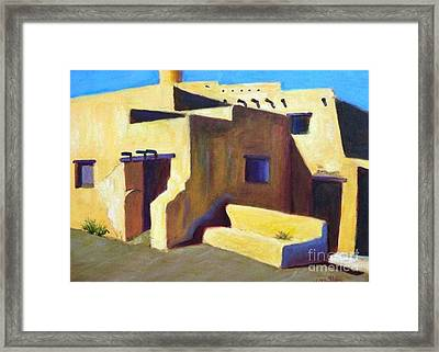 Framed Print featuring the painting Refuge From The Sun by Marcia Dutton