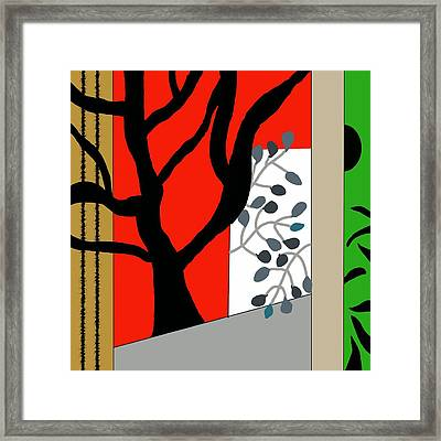 Refuge Framed Print by Kelli Watts