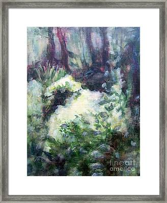 Refuge Framed Print by Mary Lynne Powers
