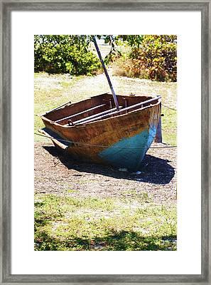 Refugee Boat Framed Print