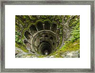 Regaleira Initiation Well 1 Framed Print