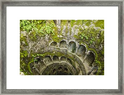 Regaleira Initiation Well 2 Framed Print