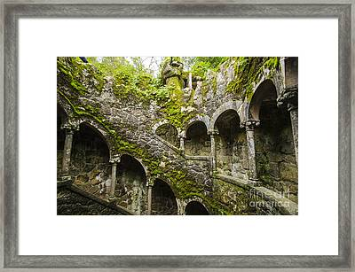 Regaleira Initiation Well 4 Framed Print
