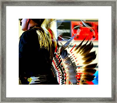 Regalia Framed Print by Lois Lepisto