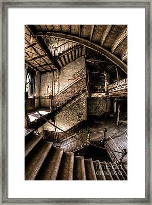 Regality Withering Framed Print by CM Goodenbury