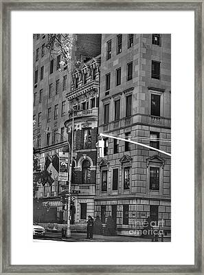 Regarding Warhol Framed Print