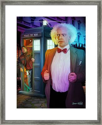 Regeneration Framed Print by Brett Hardin