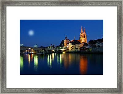 Regensburg Germany Framed Print by Movie Poster Prints