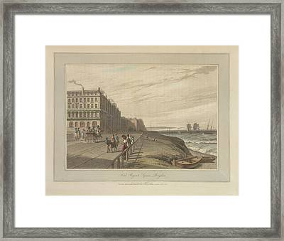 Regent's Square Framed Print by British Library