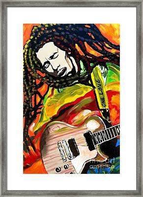 Reggae Music Framed Print