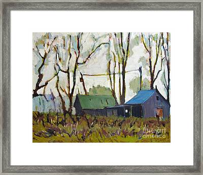 Reggies Place Framed Print by Charlie Spear