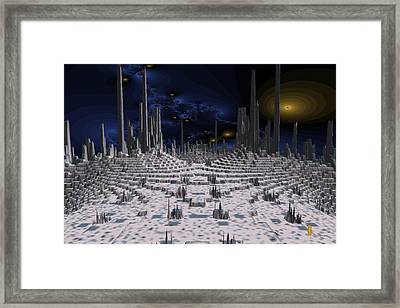 Region 2 Framed Print