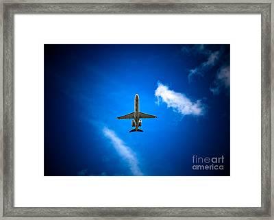 Regional Jet Framed Print