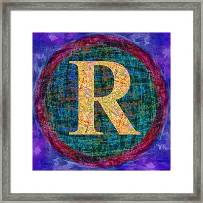 Registered Tm Framed Print