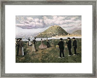 Regoyos, Darío De 1875-1913. Basque Framed Print by Everett