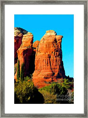 Regular Or Decaf? Framed Print by Jon Burch Photography
