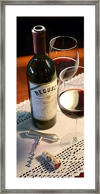 Regusci Framed Print