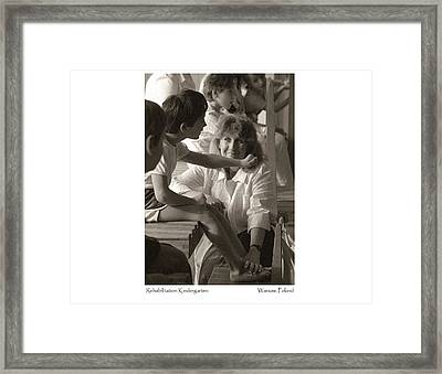 Rehabilitation Kindergarten Framed Print
