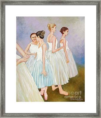 Rehearsal Framed Print by Cynthia Parsons