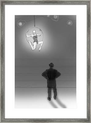 Rehearsal Framed Print by H James Hoff