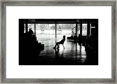 Rehearsal Framed Print