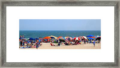 Rehobath Beach Delaware Framed Print by Patti Whitten